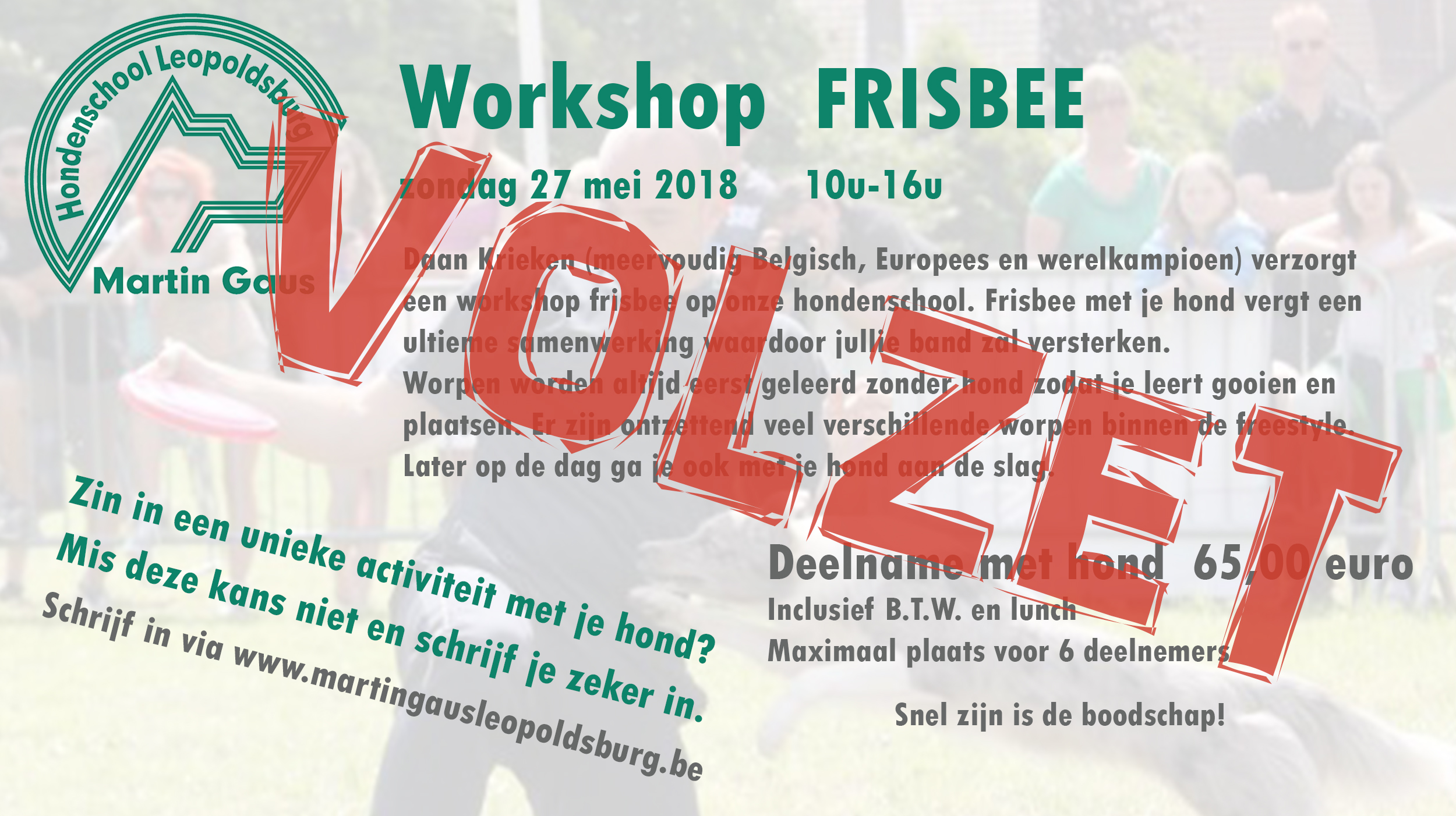 Workshop fribee